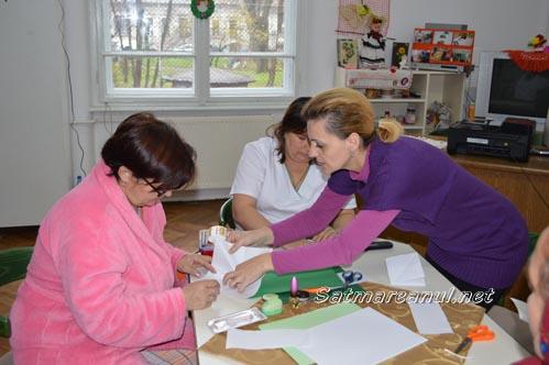 Atelier origami la secția de Psihiatrie