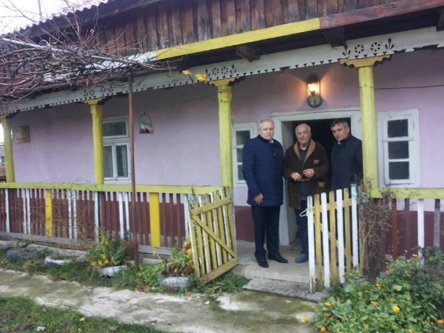 Eugeniu Avram în vizită la Muzeul Comemorativ din Roșiori