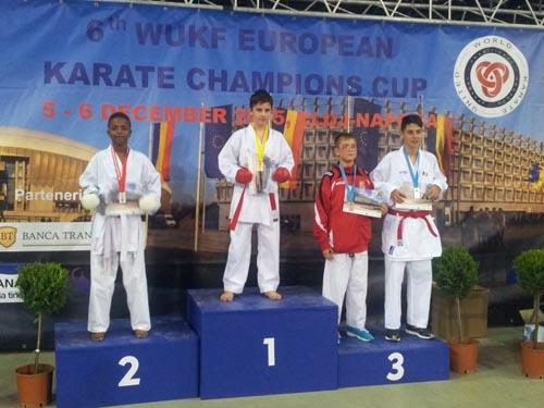 11 medalii pentru karateka de la CSM Satu Mare la Cupa Campionilor Europeni