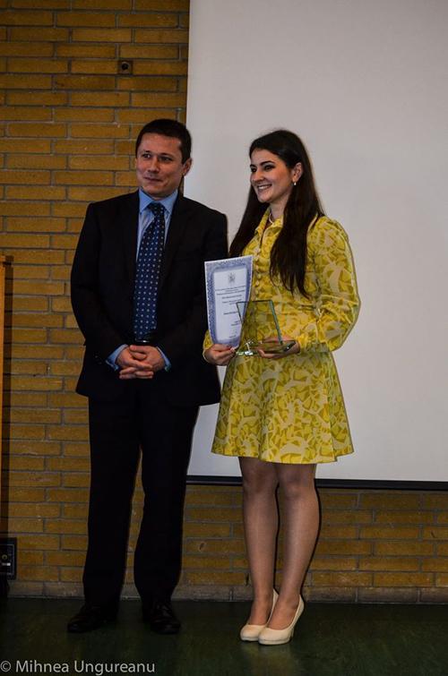 Sătmăreanca Laura Porcza, desemnată cel mai bun student român din Marea Britanie