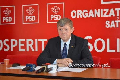 Octavian Petric este noul președinte al PSD Satu Mare