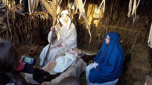 La Vama a fost pusă în scenă Nașterea Mântuitorului