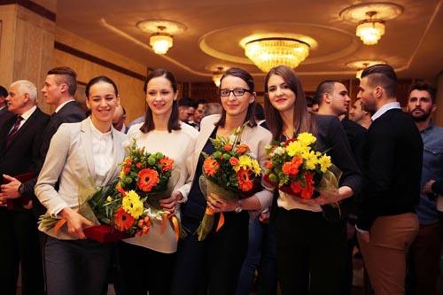 Simona Pop, printre laureații anului la CSA Steaua