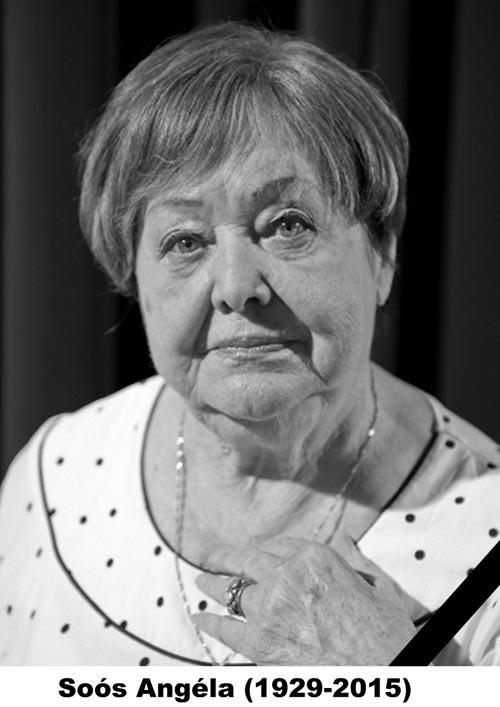 Ultim rămas bun de la actrița Soós Angéla