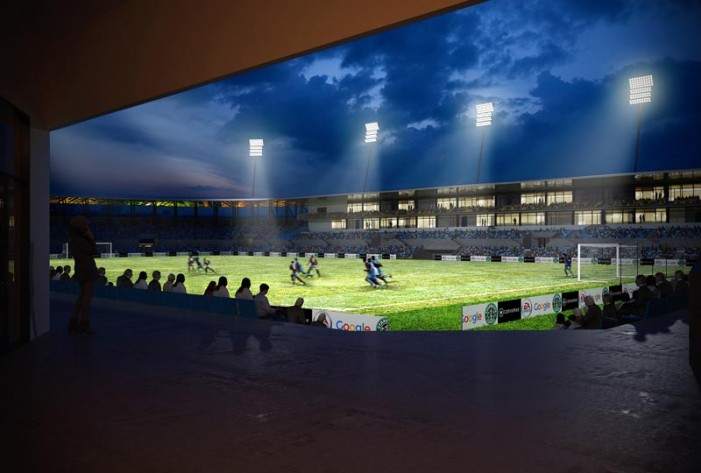 Vezi cum ar putea arăta Stadionului Olimpia după modernizare