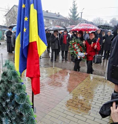 Ziua Națională a României la românii din Transcarpatia
