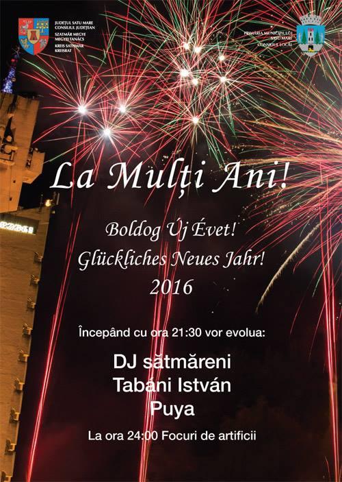 Puya va concerta de Revelion la Satu Mare