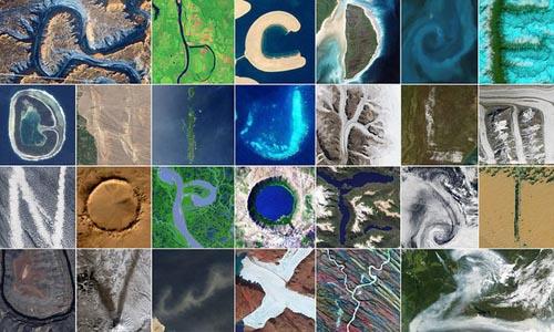 Un expert NASA a format întreg alfabetul din imagini surprinse din satelit