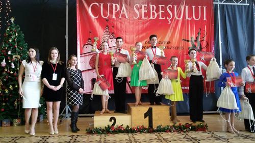 Locul II pentru Loga Dance School, la Cupa Sebeșului