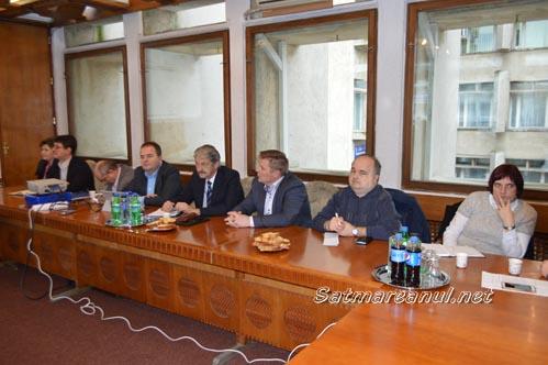 Prefectul a felicitat firmele care se implică în viața socială a județului
