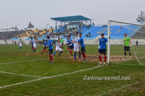 Olimpia Satu Mare – Unirea Tărlungeni 1-1