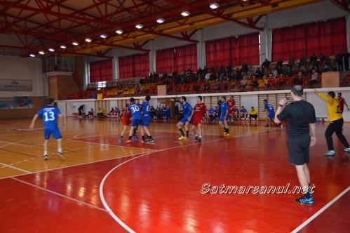 "Handbal: CSM Satu Mare-""U"" Craiova 38-36"