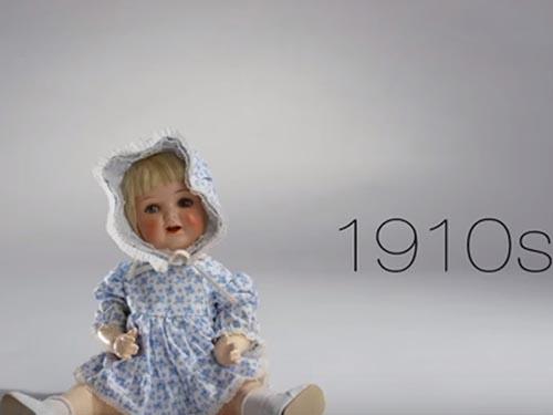 100 de ani de istorie a jucăriilor, în 150 de secunde (Video)