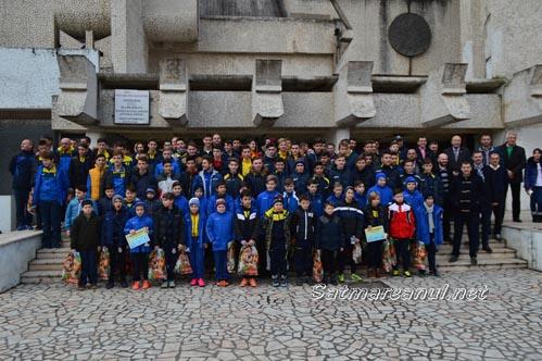 "Echipele de copii și juniori premiate la ""Gala Olimpia"" 2015"