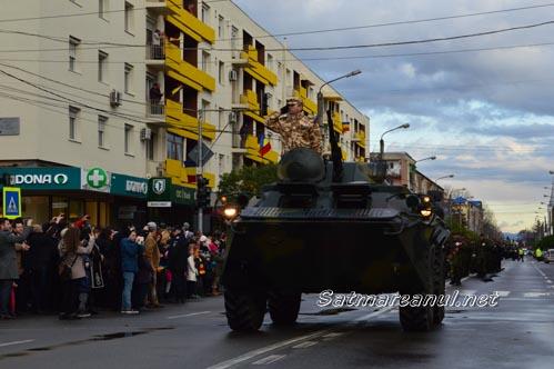 Paradă militară de excepție, cu ocazia Zilei Naționale a României (Foto & Video)