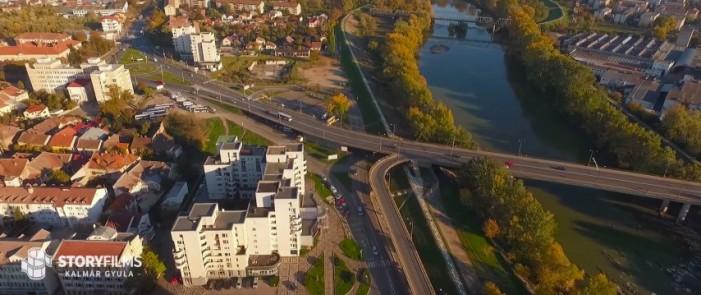 Imagini superbe cu orașul Satu Mare, filmate cu o dronă (Video)