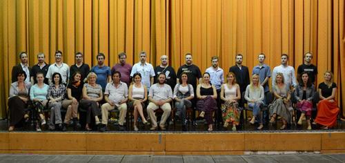 "Spectacol de Revelion, organizat de Trupa ""Harag György"""