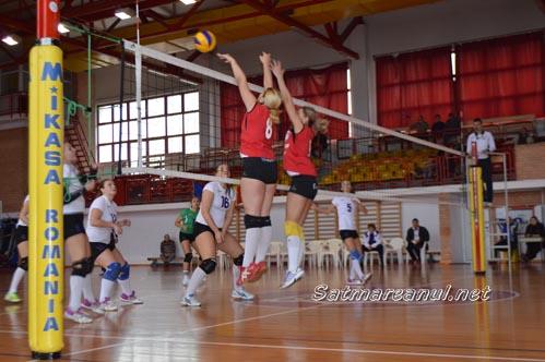 Volei: CSM Satu Mare-CSU Politehnica Timișoara 3-2