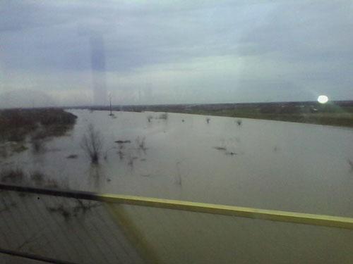 Depășiri ale cotelor de atenție pe mai multe râuri din județul Satu Mare