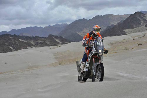 Dakar 2016: Mani Gyenes a terminat etapa a 11-a pe locul 22