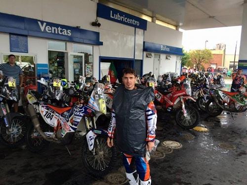 Mani Gyenes a terminat pe locul 20 etapa a II-a a raliului Dakar 2016