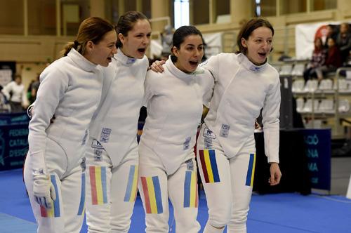Scrimă: România, cu Simona Pop în echipă, pe primul loc în clasamentul Cupei Mondiale