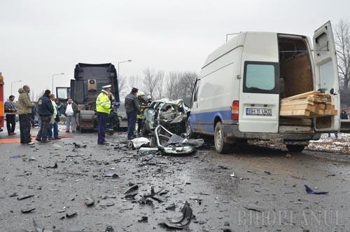 Accident cu doi morți pe centura municipiului Oradea (Foto&Video)