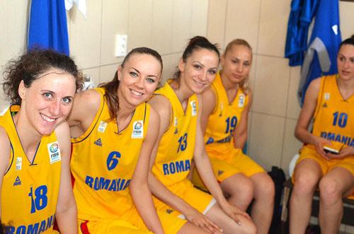 Claudia Pop și Andreea Olah, convocate la naționala României de baschet