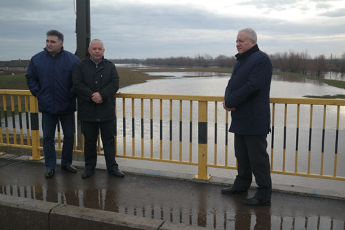 Prefectul verifică modul de pregătire în caz de inundații