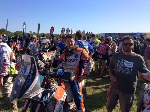 Dakar 2016 la final: Mani Gyenes locul 14 la general !