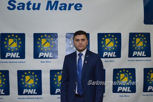 Adrian Cozma este candidatul PNL pentru Primăria Satu Mare