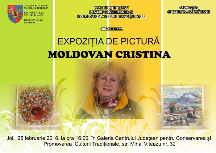 Expoziţia de pictură Cristina Moldovan