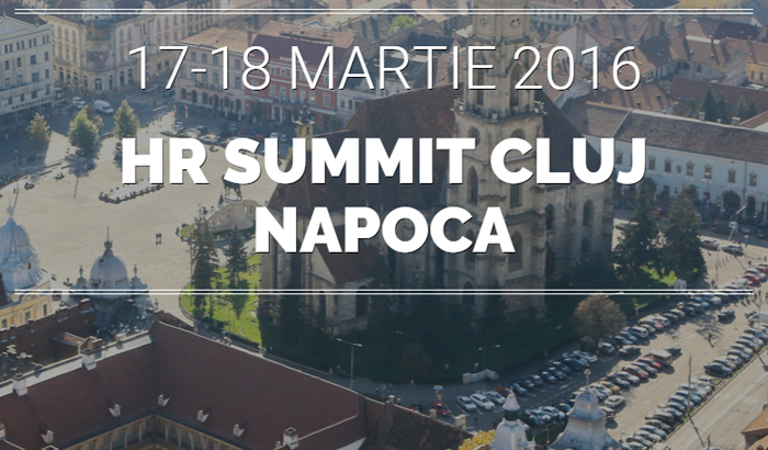 În mai puțin de o lună specialiștii de Resurse Umane își dau întâlnire la Cluj-Napoca