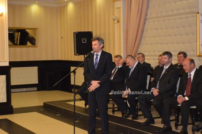 Traian Băsescu l-a lansat pe Horea Anderco în bătălia pentru Primăria Satu Mare (Foto&Video)