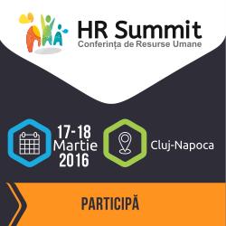 Despre cum influențează HR-ul rezultatele de business, la Conferința de Resurse Umane HR Summit Cluj-Napoca