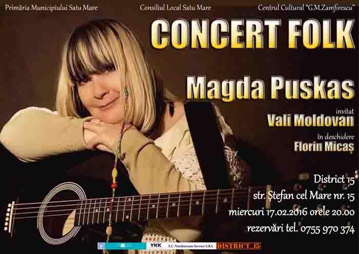 Concert folk și spectacol pentru copii