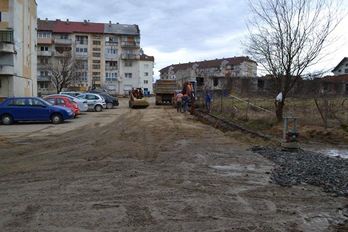 Reabilitarea rețelelor de apă, în plină desfășurare la Negrești-Oaș