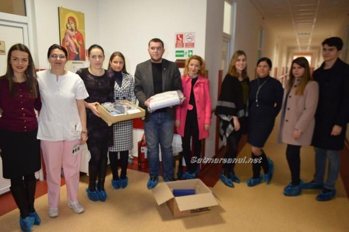 Clubul Rotaract Satu Mare a donat un aparat performant Spitalului Județean