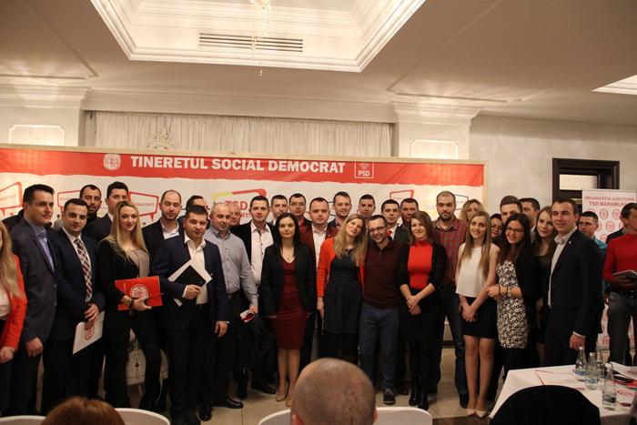 Tineri social-democrați sătmăreni la Comitetul Executiv al TSD