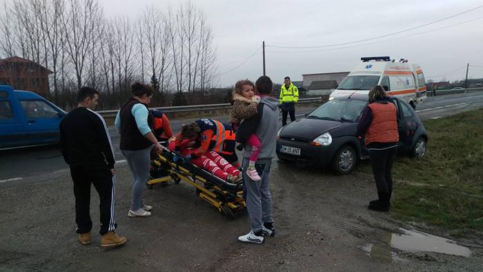 Accident cu o femeie rănită în localitatea Dorolț (Foto)