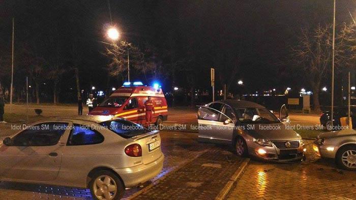 Accident în Piața Libertății (Foto)