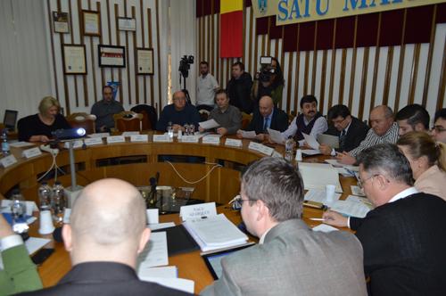 Consilierii au adoptat bugetul municipiului Satu Mare