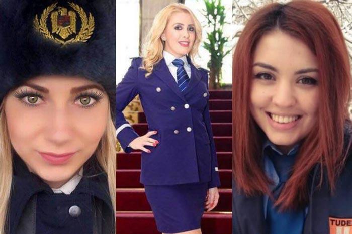 Concurs de frumusețe pentru polițiste (Foto)
