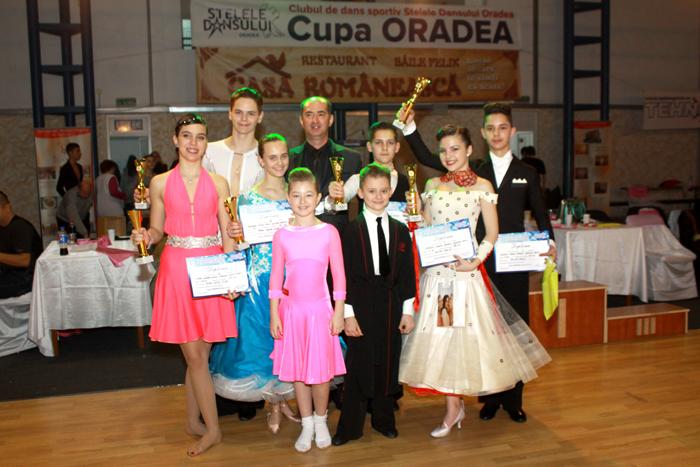 """Șase medalii pentru """"Royal Dace Club"""" la """"Cupa Sântandrei"""""""