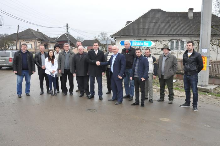 Începe modernizarea Drumului Județean Bârsău de Sus – limită județul Maramureș