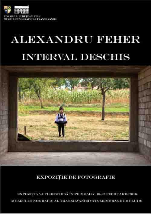 Alexandru Feher își expune fotografiile la Muzeul Etnografic al Transilvaniei