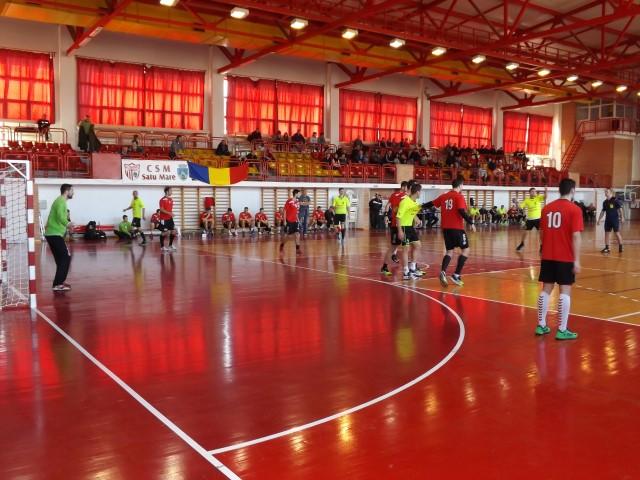 Handbal: CS Universitatea Cluj-CSM Satu Mare 27-22