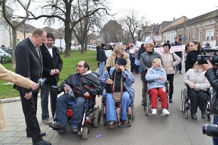 Marșul bolilor rare la Carei