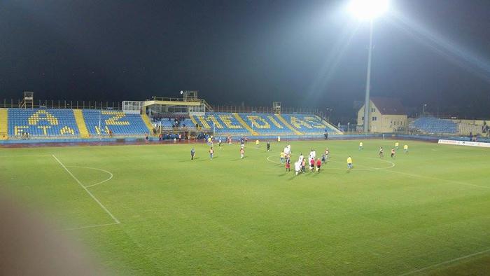 Olimpia a pierdut cu 0-1 la Mediaș