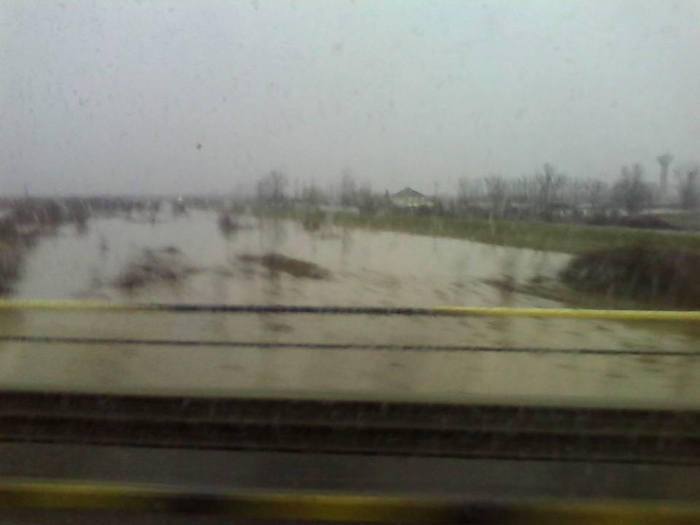 Râul Crasna a ieșit din matcă